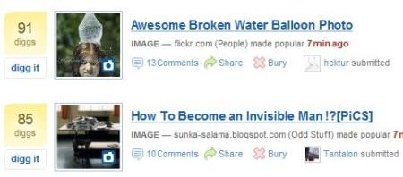 Digg también quiere imágenes