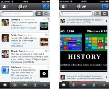 Así es la nueva vista multimedia de Tweetbot 2.8