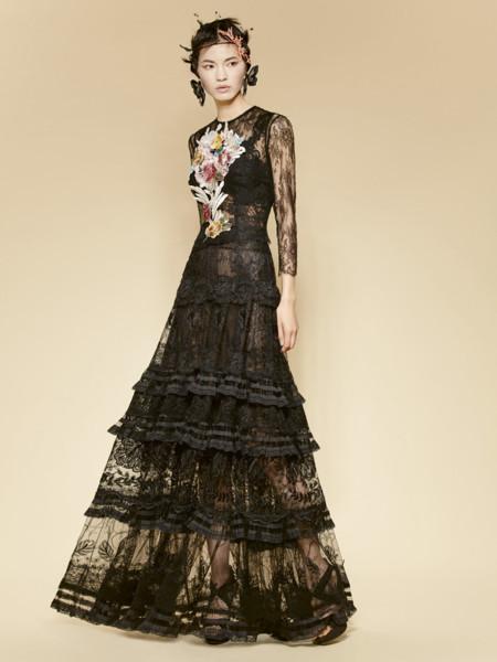 Look 40 Yolan Cris Pret A Couture Ss2016 16 97 Vestido 16 98 Blusa