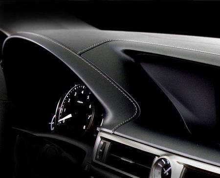 Interior del Lexus LF-Gh