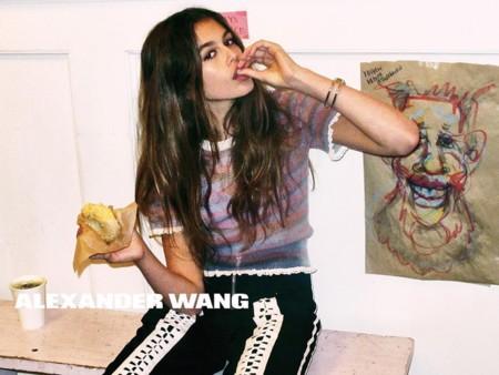 ¿Eres de la pandilla Alexander Wang Primavera-Verano 2016? (Kaia Gerber sí)