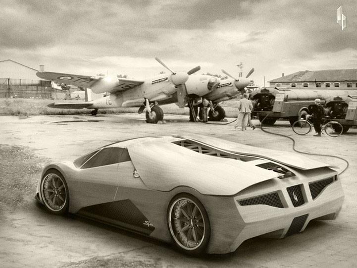 Foto de Splinter, el coche de madera (6/11)