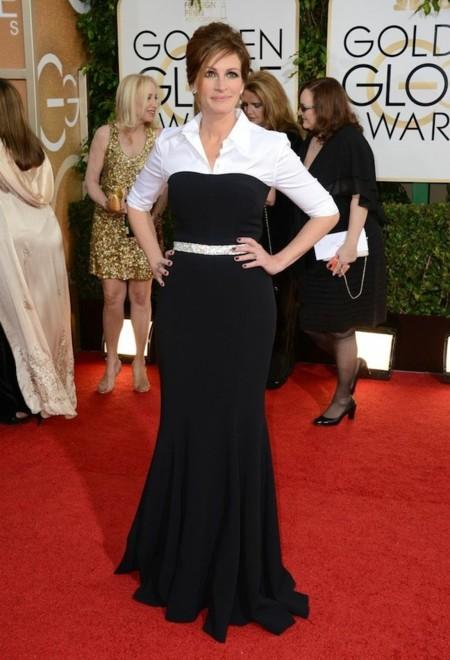 Julia roberts look globos de oro 2014