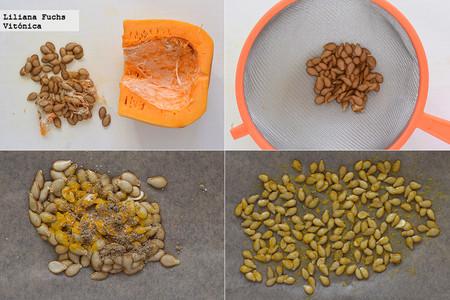 Semillas de Calabaza. Pasos