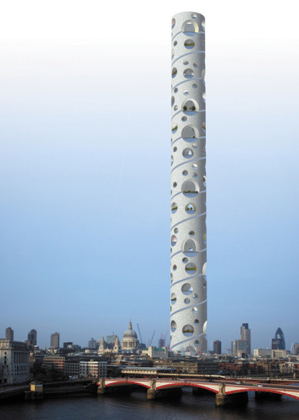 New Town Tower: la ciudad vertical de 1.500 metros en Londres