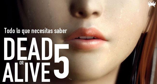 Dead or Alive 5 - Todo lo que necesitas saber