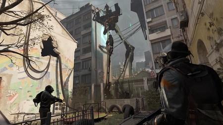 En este vídeo se puede ver más gameplay de Half-Life: Alyx, aunque sea con la cámara grabando la pantalla