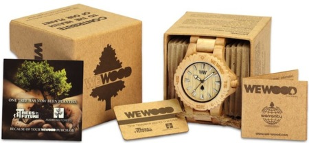 WeWood, relojes eco de madera para tus muñecas