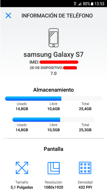 Informacion Del Telefono