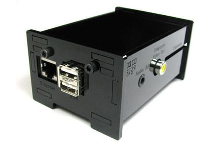 La Raspberry Pi en una caja especialmente diseñada para ella