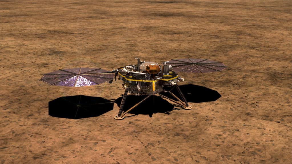 La misión InSight llegará hoy a Marte: éstas son sus características y así podremos seguirlo en directo