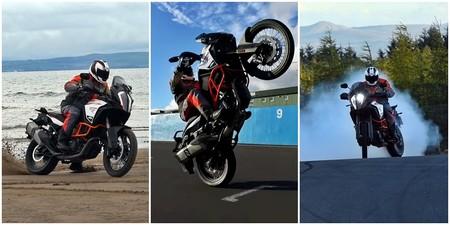 Playa, drifting y caballitos. Así de excitante puede ser el invierno con una KTM 1290 Super Adventure R