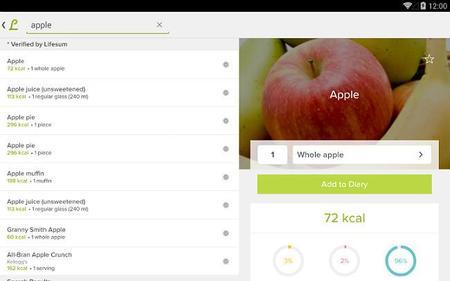 Nueve aplicaciones que te ayudarán a cuidar la alimentación