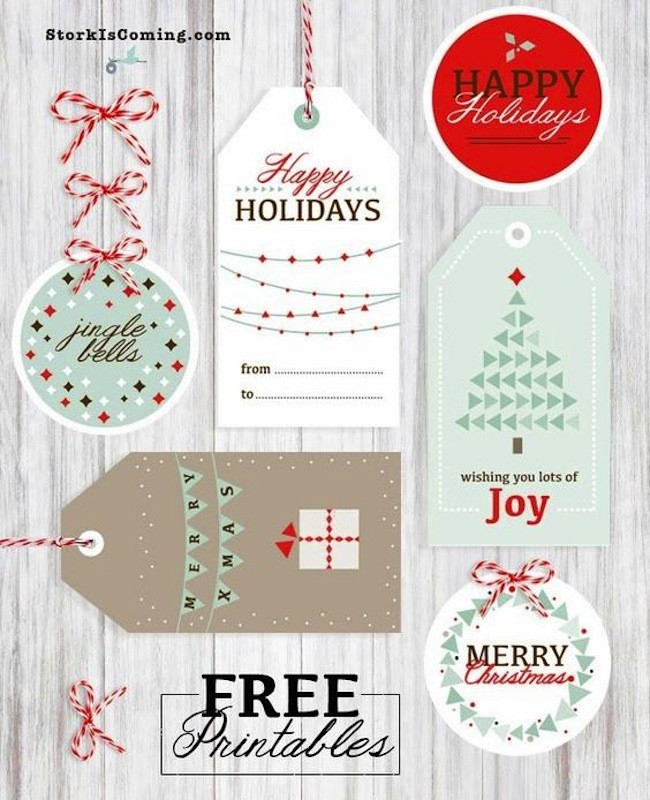 Imprimibles Navidad 10etiquetas