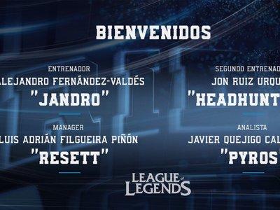 Este es el staff completo y roster de Movistar Riders