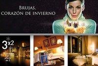 Brujas en invierno: promoción de tres noches al precio de dos