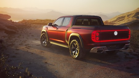 Vw Atlas Tanoak Pickup Concept 02