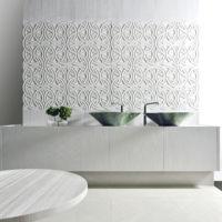 Rondò y Merletto, las nuevas propuestas para decoración de pared en 3D by Kreoo