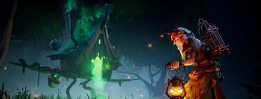 Desafío Fortnite: visita distintas cabañas de bruja. Solución