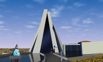 El futuro Museo del Hielo en Argentina