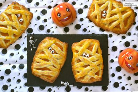 Galletas momia de calabaza: divertida receta para Halloween (que encantará a los niños)