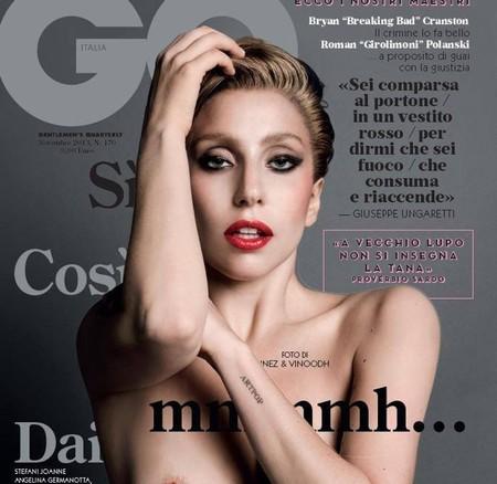Lady Gaga se nos queda en pelota picada para GQ Italia, ¡alegría!