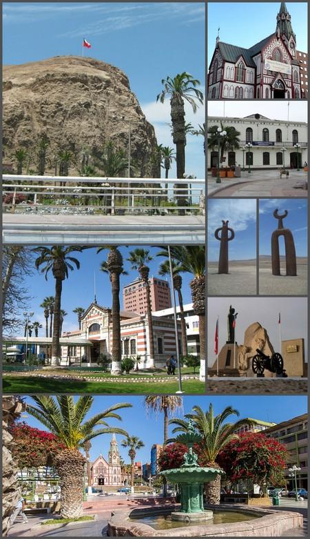 Montaje De Arica