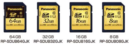 Panasonic presenta sus tarjetas SD resistentes a todo tipo de situaciones