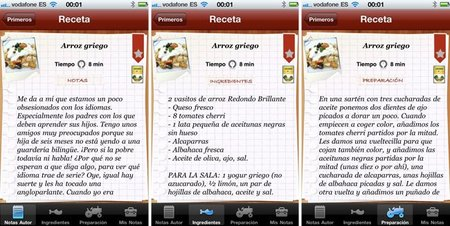aplicación para el iPhone de Falsarius Chef - 3