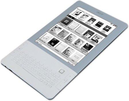 Acer Lumiread es en realidad un lector de libros con aspiraciones de tablet