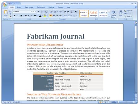 Microsoft Office 2007, el diseño definitivo sale a la luz