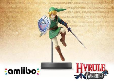 La figura amiibo de Link nos acompañará en nuestra aventura en Hyrule Warriors