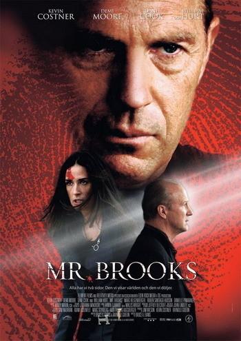 Posters de 'Mr. Brooks' con Kevin Costner