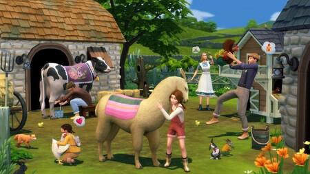 Los Sims 4 nos hará conectar con la naturaleza y tener nuestra propia granja con Vida en el Pueblo, su nueva expansión para julio