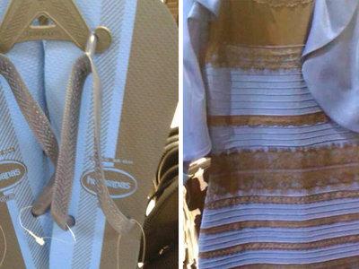 Internet, supéralo ya: el efecto visual de las chanclas es el mismo que el del maldito vestido