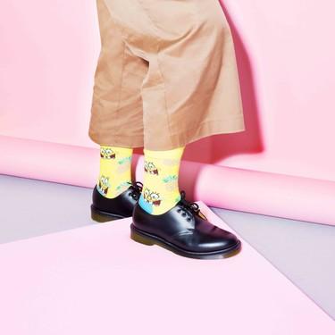 Vas a querer vivir en una piña debajo del mar: Happy Socks x Bob Esponja es la colección que queremos para alegrar la cuarentena