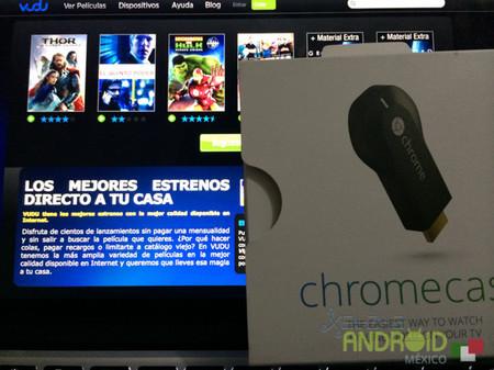 Vudu podrá ser visualizado en tu Chromecast pronto