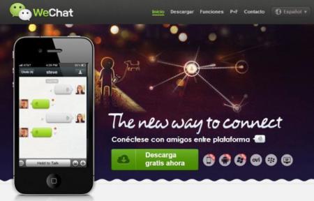 WeChat desembarca en España oficialmente