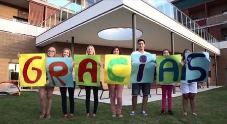 Representantes de las familias de las Casas Ronald McDonald muestran su agradecimiento en un vídeo