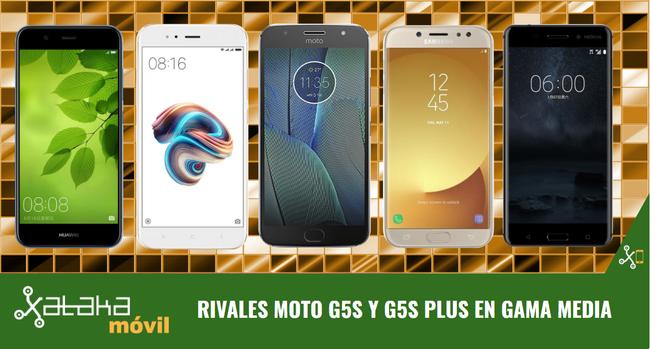 Moto G5s y G5s Plus frente a los mejores teléfonos con novedades heredadas de gama alta a precio asequible