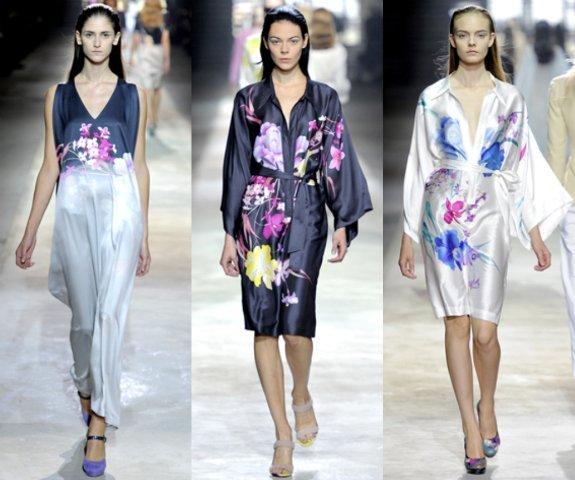 Dries van Noten Primavera-Verano 2011 en la Semana de la Moda de París