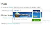 Blogger ahora puede enlazar a perfiles y páginas de Google+ en los posts por medio de menciones