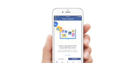 Scrapbook: así es como Facebook quiere organizar las fotos de los peques en nuestros muros