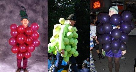 Disfraz uva