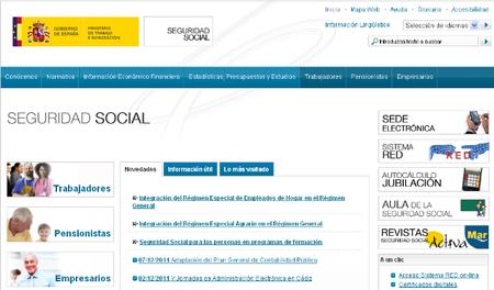 Pago de deudas con la Seguridad Social a través de internet y nuevo tablón electrónico de la Seguridad Social