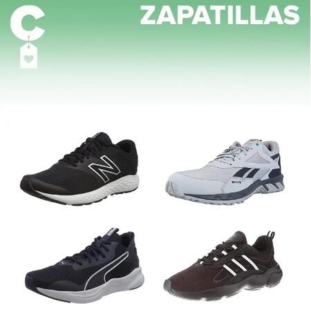 Chollos en tallas sueltas de zapatillas Adidas, New Balance, Puma o Reebok en Amazon