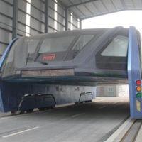 Es oficial: el autobús elevado de China fue una estafa y han empezado a desmontar toda su infraestructura