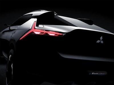 Mitsubishi e-Evolution Concept se deja ver antes del Auto Show de Tokio