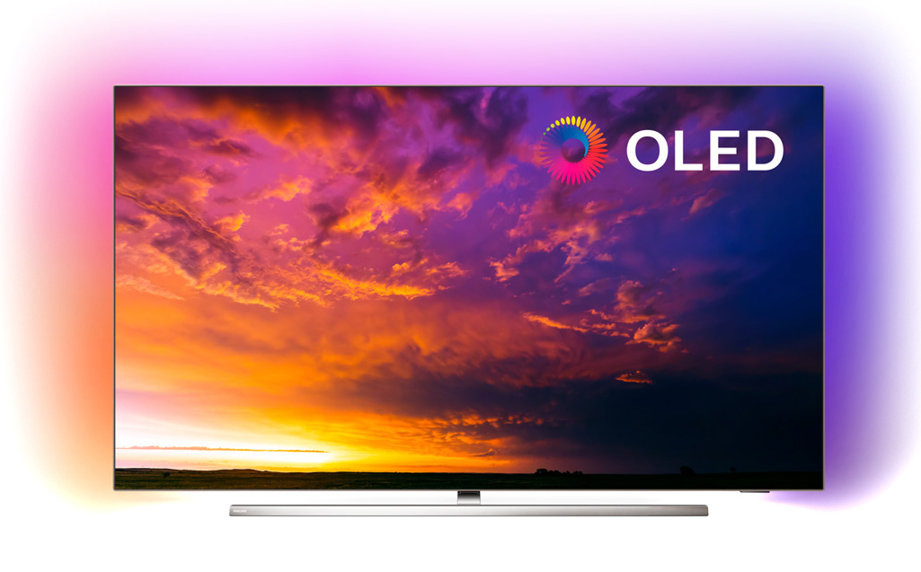 "TV OLED 139 cm (55"") Philips 55OLED854/12 4K HDR Smart TV, Ambilight y Android TV con Inteligencia Artificial (IA)"