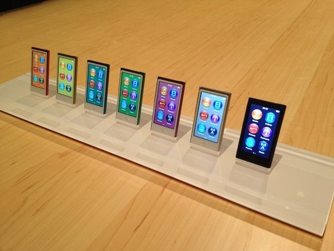 Nueva gama iPod